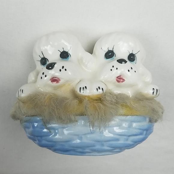 Vintage Other - Vintage ceramic dog figurine